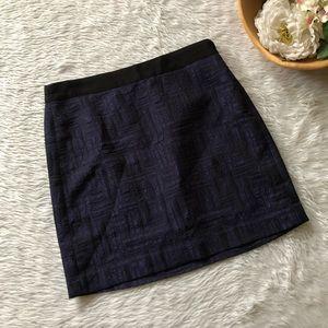 Banana Republic Purple Textured Skirt
